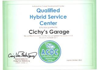 Hybrid Service Certified